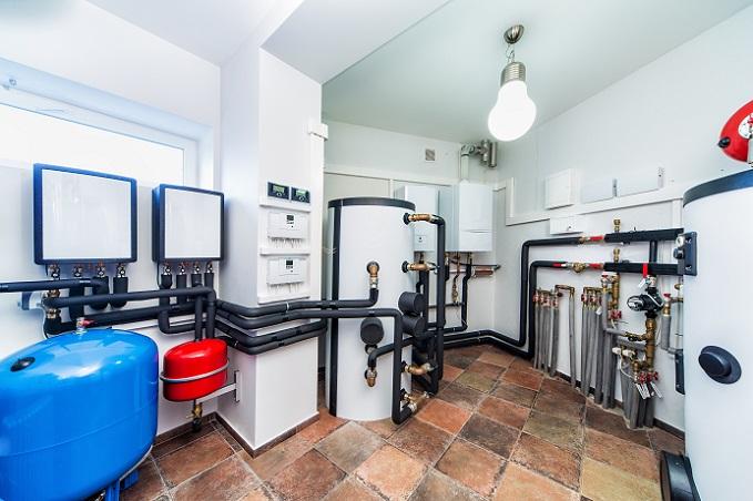 Eine andere Form der Warmwasserbereitung sind Warmwasserspeicher, auch Boiler genannt und Kochendwasserspeicher. (#01)