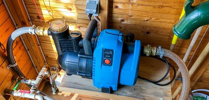 Gartenpumpe: Mit Druckschalter ausrüsten?