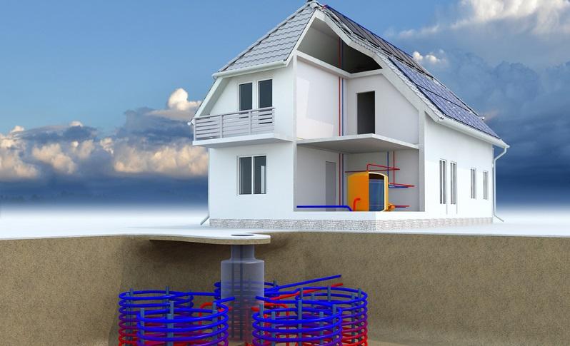 Eine Erdwärmepumpe mit Flächenkollektoren kann im Prinzip überall verlegt werden. Der limitierende Faktor ist hier der enorme Platzbedarf.  ( Foto: Shutterstock-_Costazzurra)