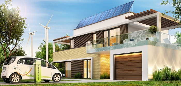 Heizungsarten + Haus: Was ist im Fertighaus wirtschaftlich und effizient ( Foto: Shutterstock- Slavun )