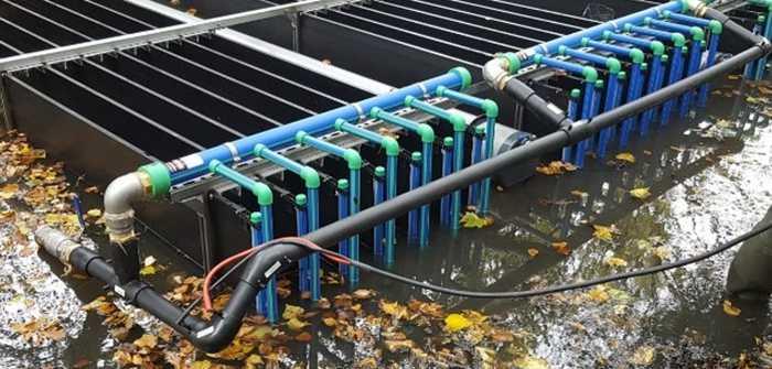 MEFA water Wasserwärmetauscher: Energiequelle Aquathermie nutzt kaltes Wasser (Foto: MEFA energy systems)